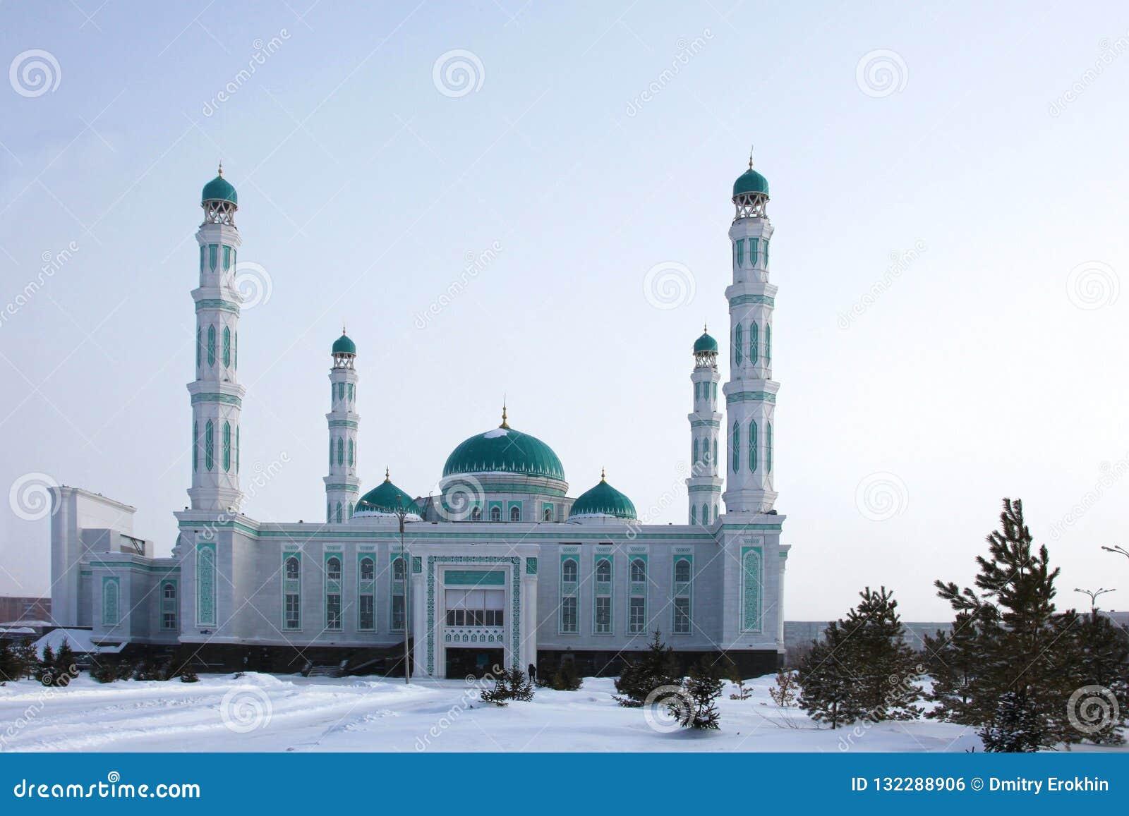 Mesquita central da catedral de Karaganda, Cazaquistão