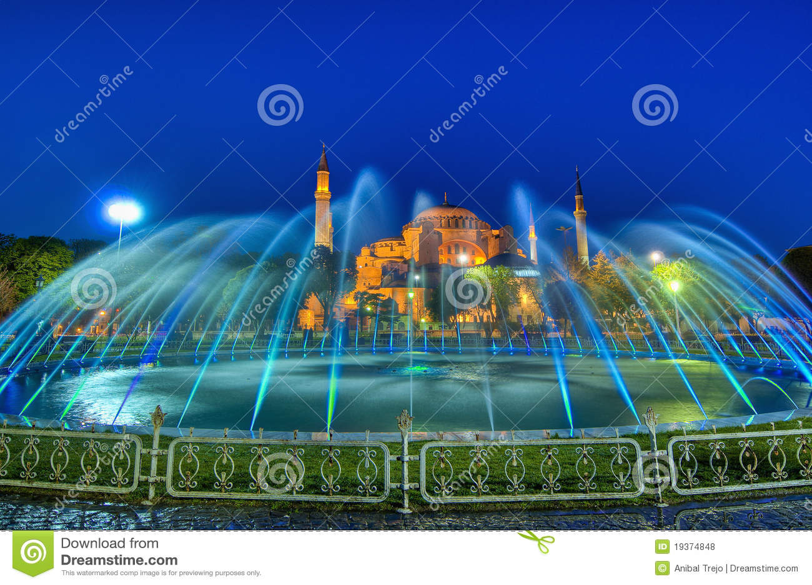 Mesquita de Hagia Sófia em Istambul
