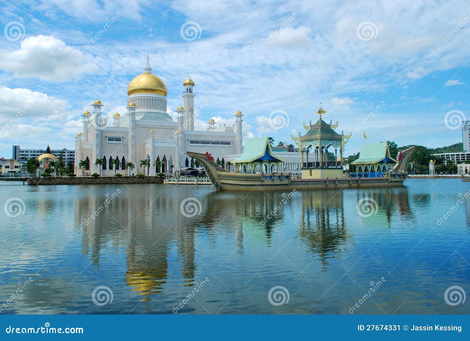 Mesquita de Omar Ali Saifuddien da sultão em Brunei