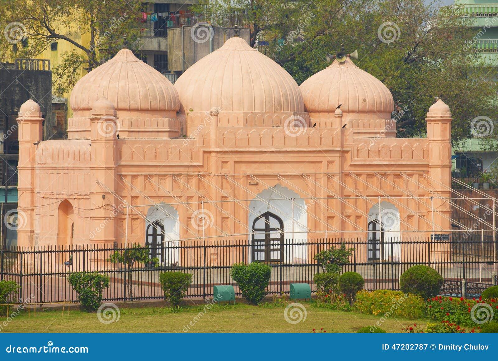 Mesquita do forte de Lalbagh, Dhaka, Bangladesh