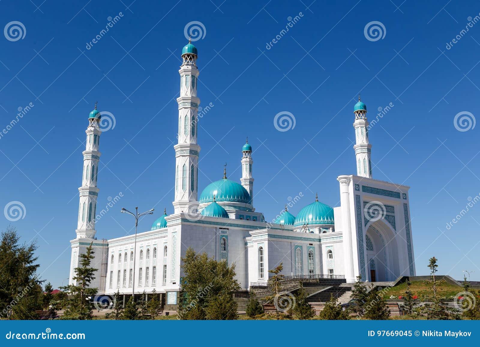 Mesquita do oblast de Karaganda Karaganda, Cazaquistão