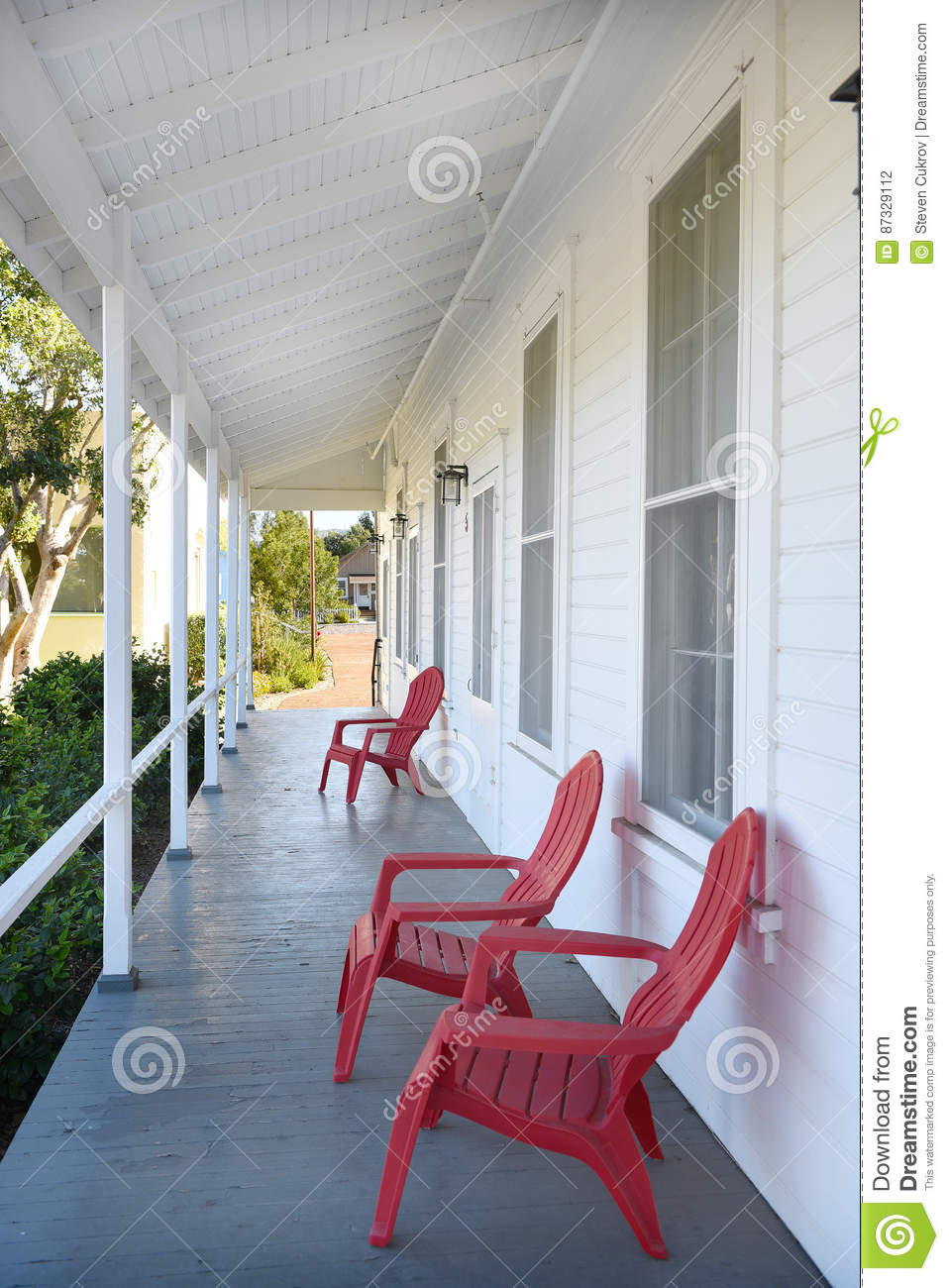 Mess Hall Porch