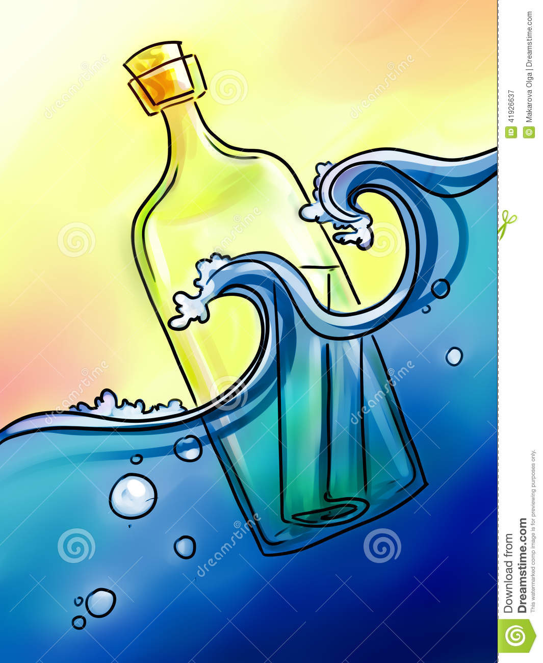message in a bottle pdf download