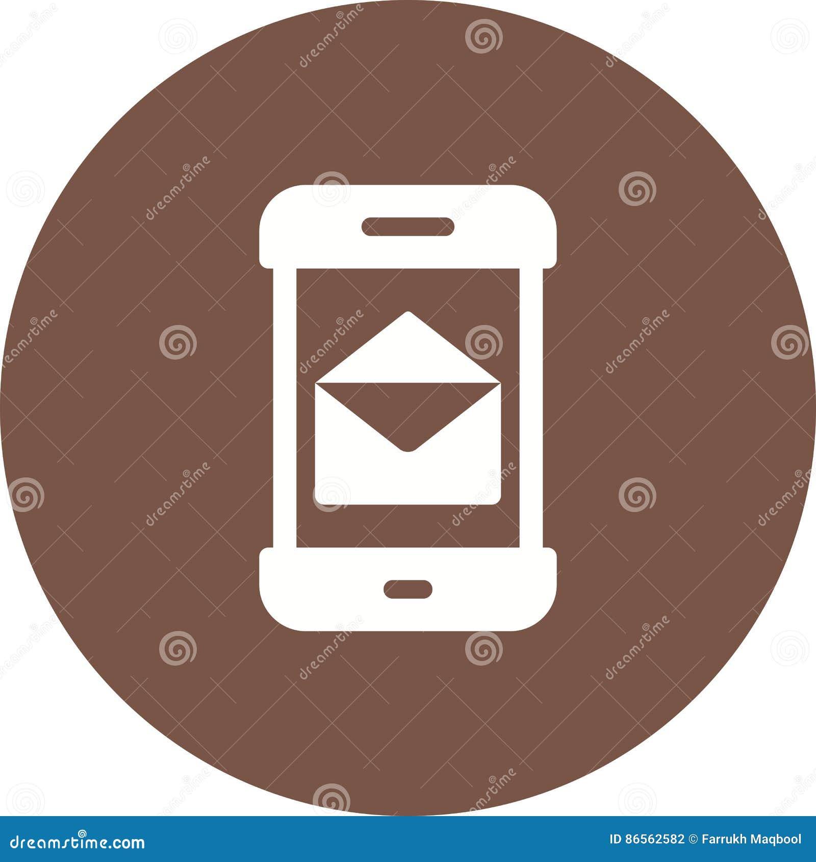 Messaging App stock vector  Illustration of envelope - 86562582