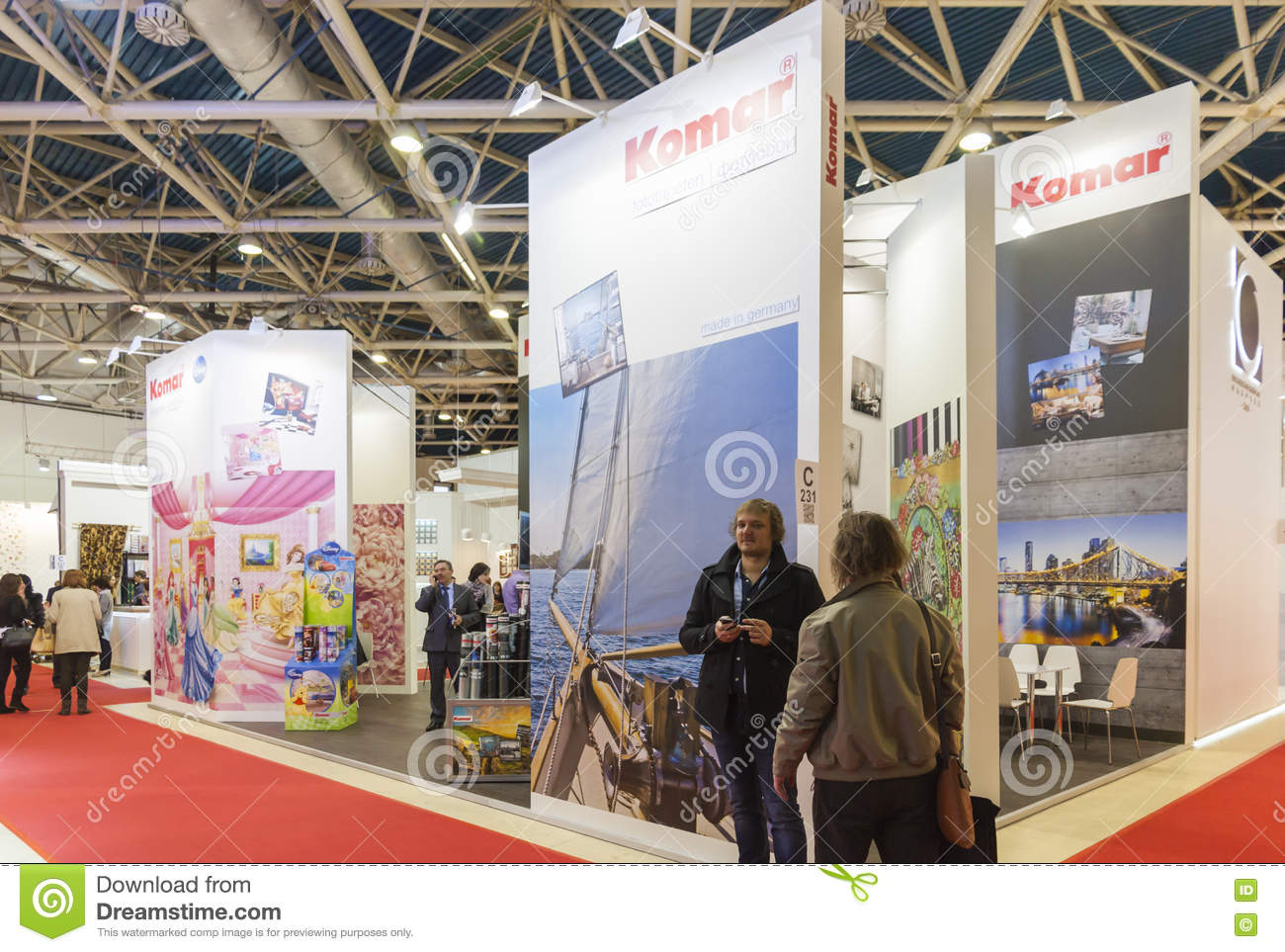 Messe des internationalen Handels Mosbuild
