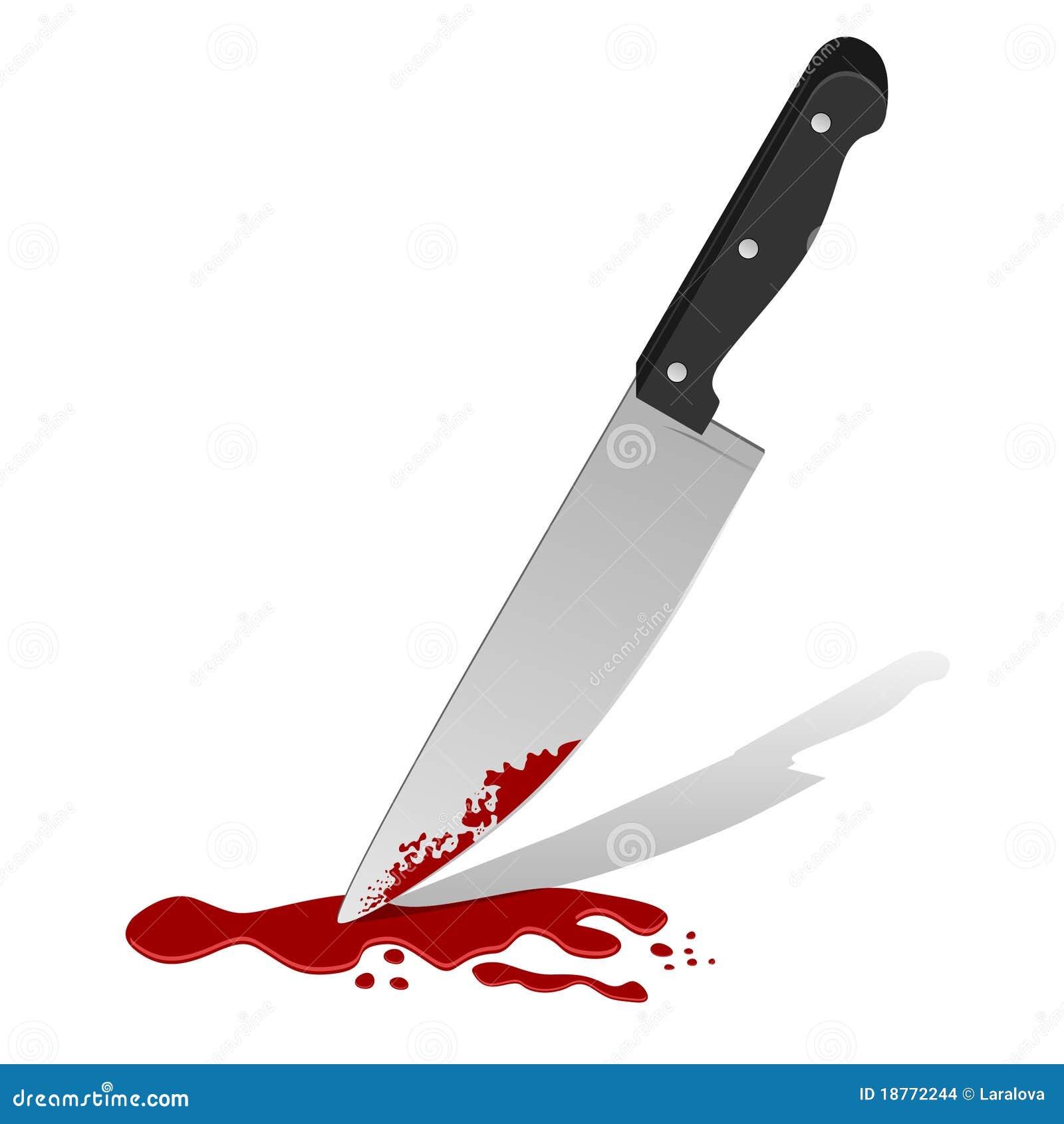 Messer Mit Blut Stockbilder - Bild: 18772244