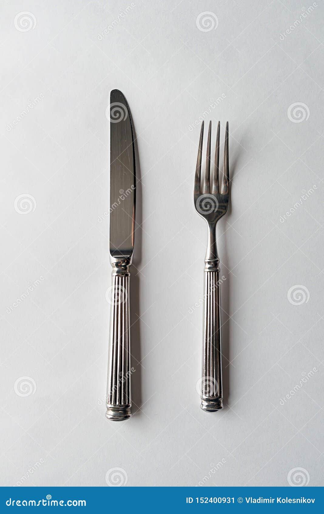 Messer und Gabel-Tischbesteck