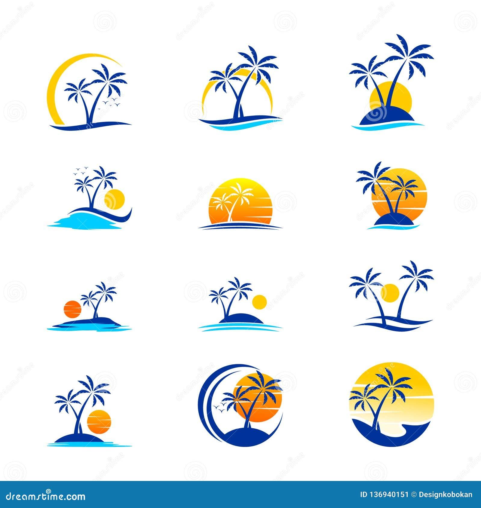 Messo della festa e del viaggio Logo Design
