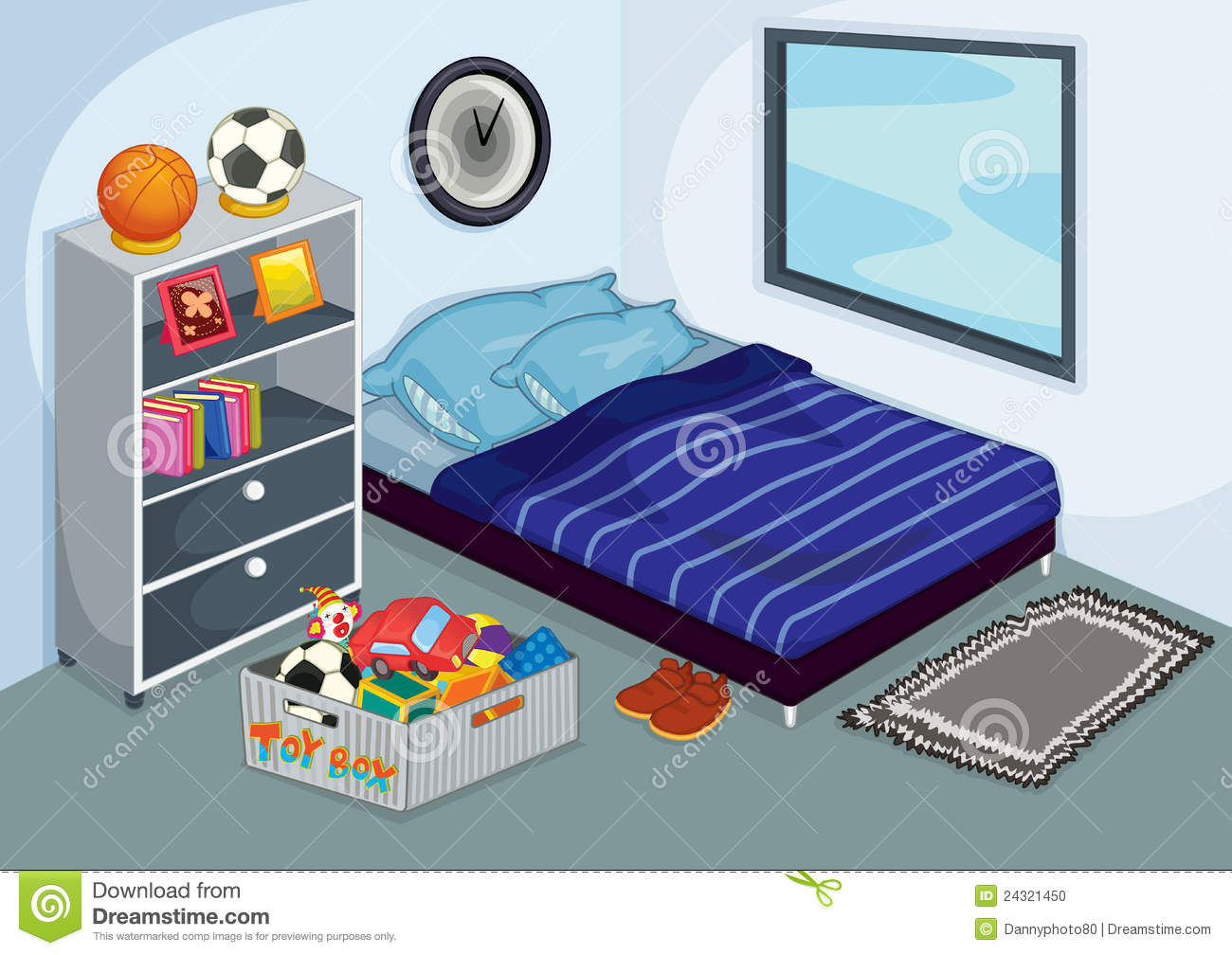 Take the stress out of clean bed clipart bangdodo for Clean bedroom pictures
