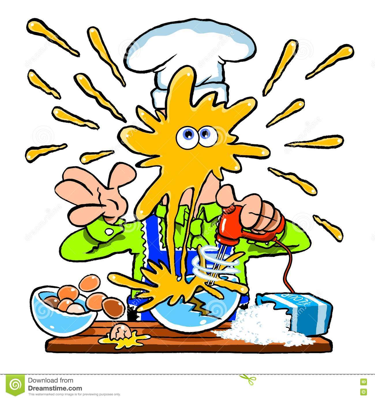 Clip Art Messy Kitchen: Cartoon Messy School Classroom Full Of Naughty Kid Student