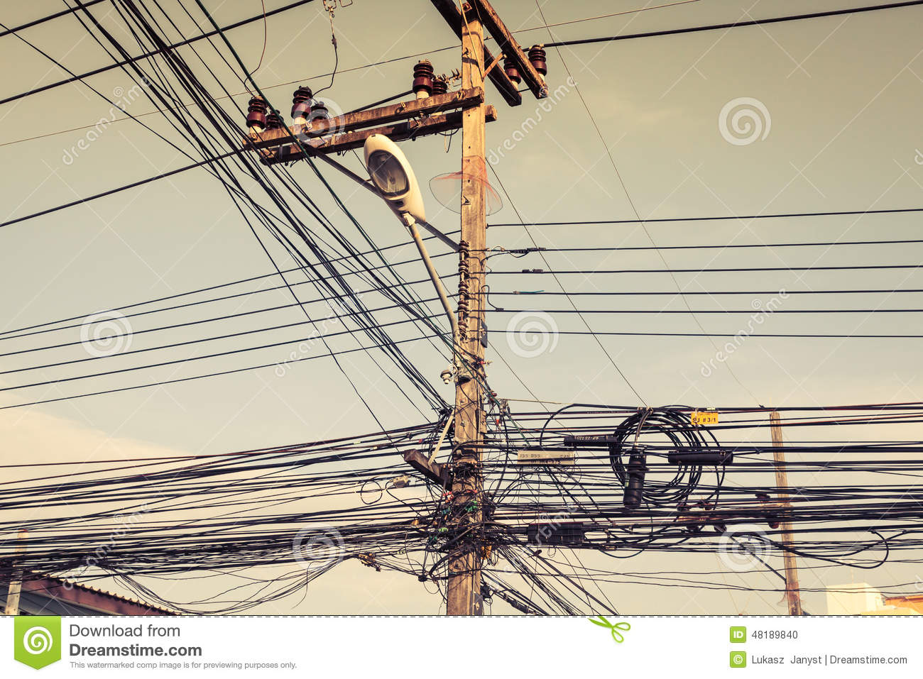 Electrical Wire Street - WIRE Center •