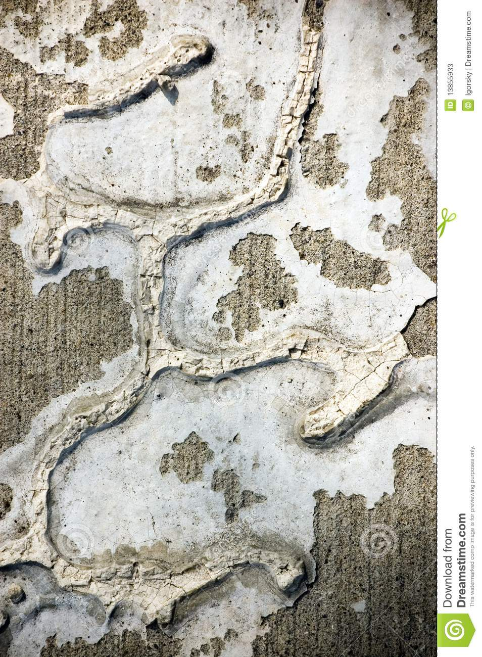 Messy Painted Wall Stock Photos Image 13855933