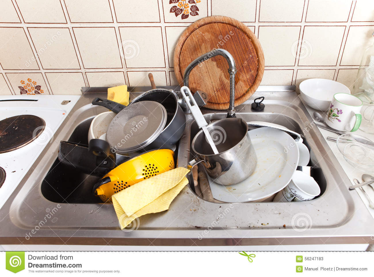 Dirty Kitchen Sink Images