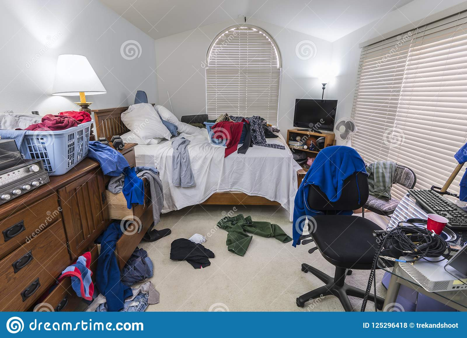 Messy Bedroom Stock Images - Download 2,801 Royalty Free ...