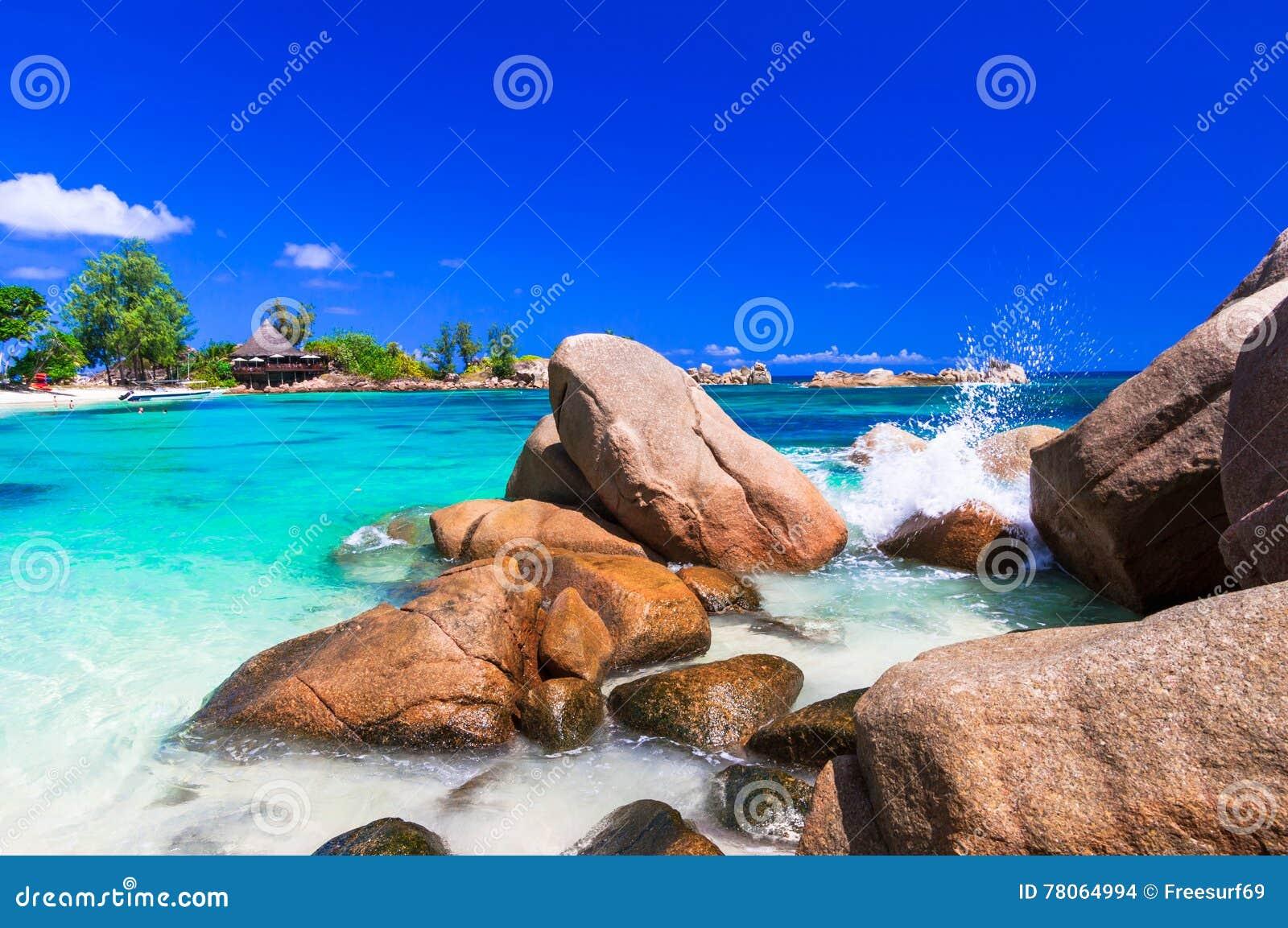 Mest härlig tropiska stränder - Seychellerna öar