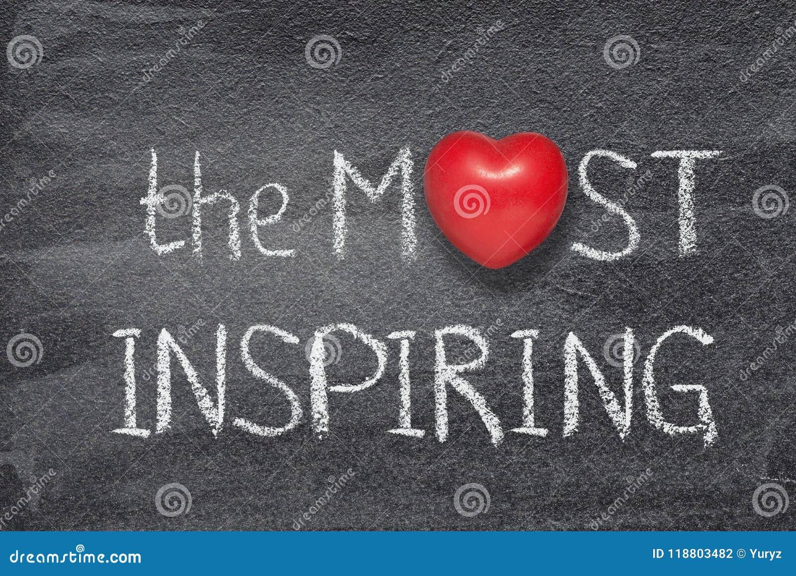 Mest inspirerande hjärta