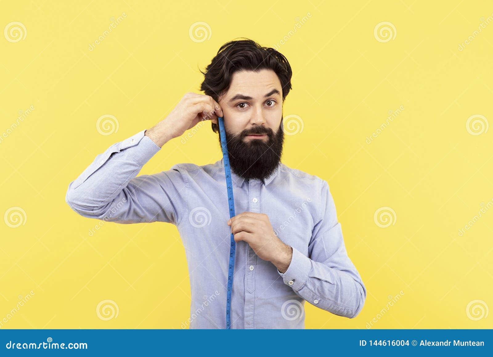 Mesure de longueur de barbe
