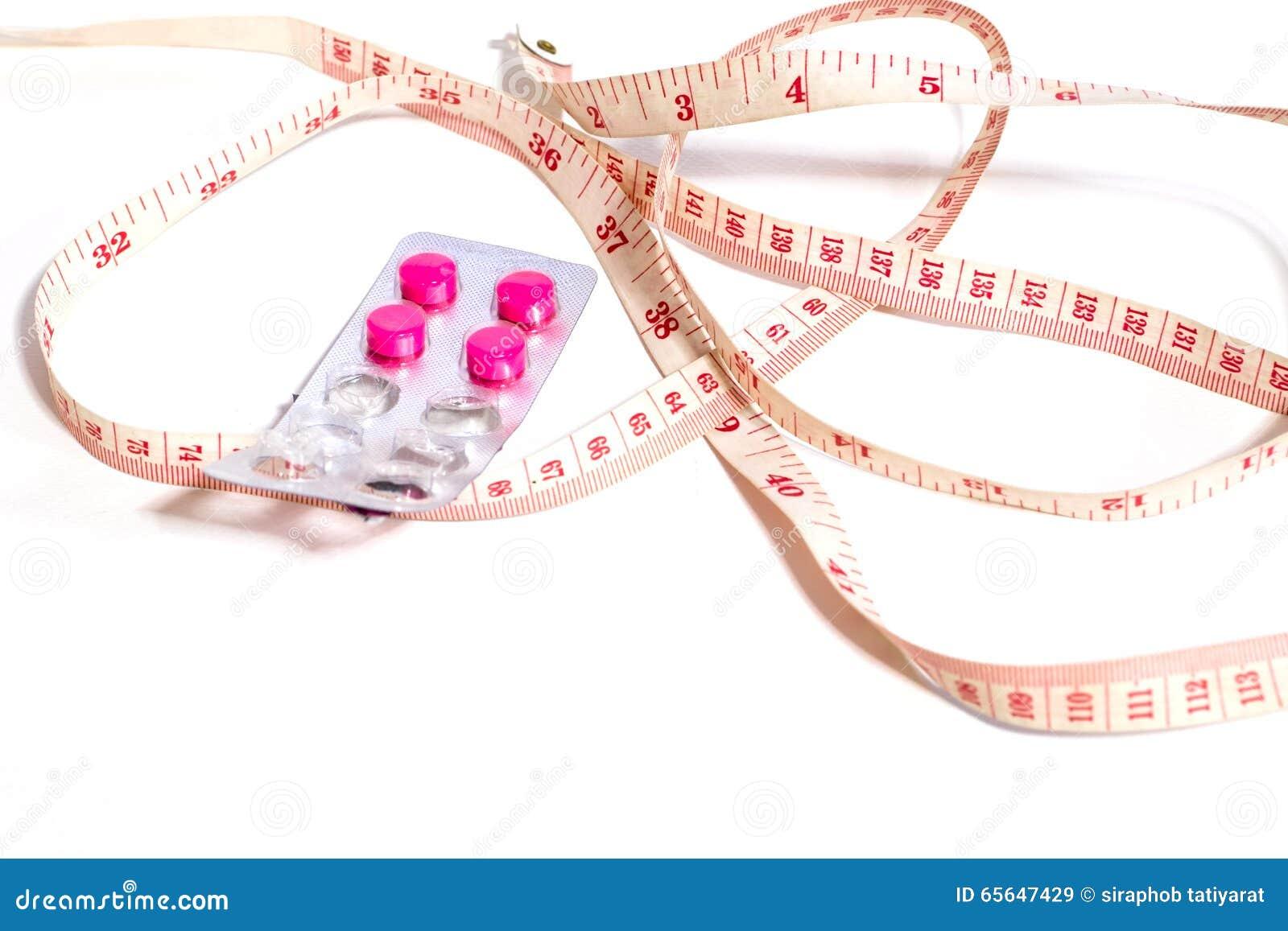 Mesurez la taille et les drogues de perte de poids