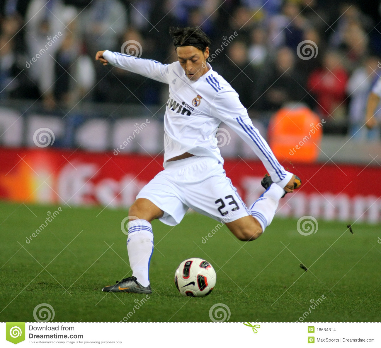 Mesut Ozil of Real Madrid editorial stock image. Image of ...