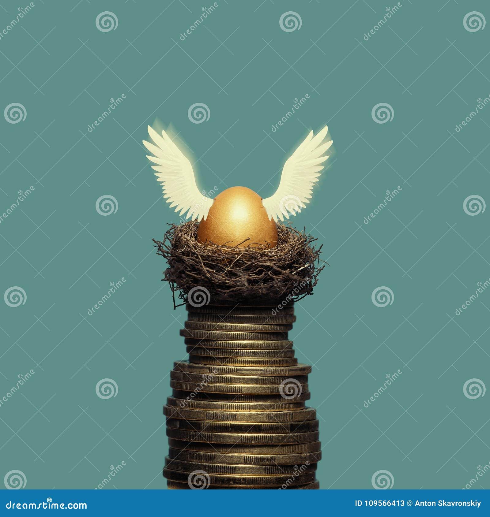 A metáfora da acumulação de dinheiro e de investimentos bem sucedidos