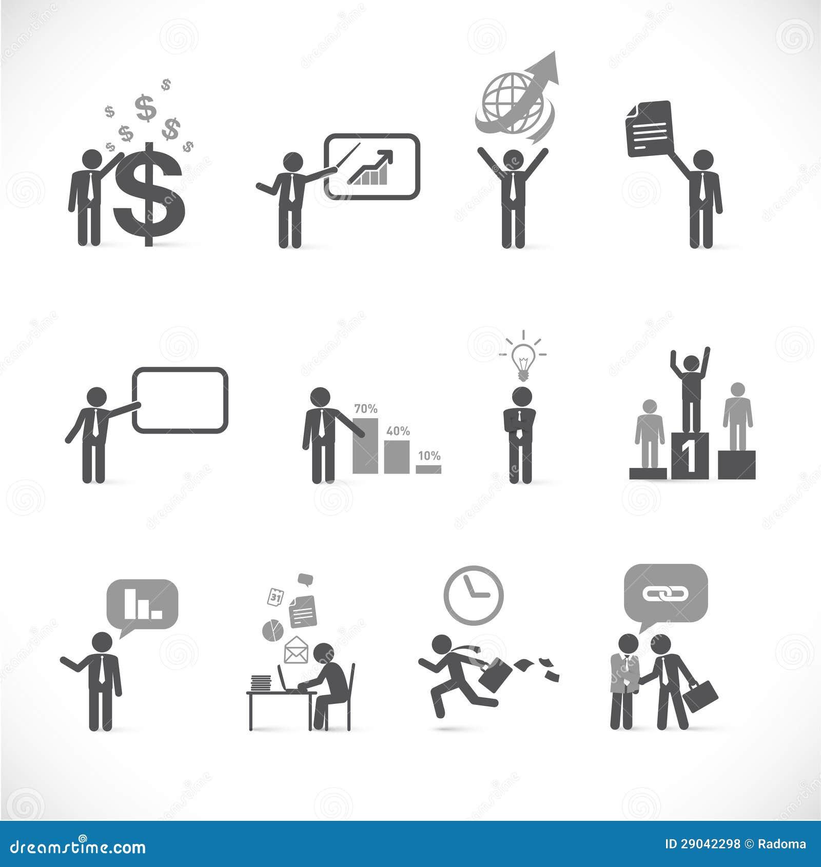 Metáforas 2 del hombre de negocios