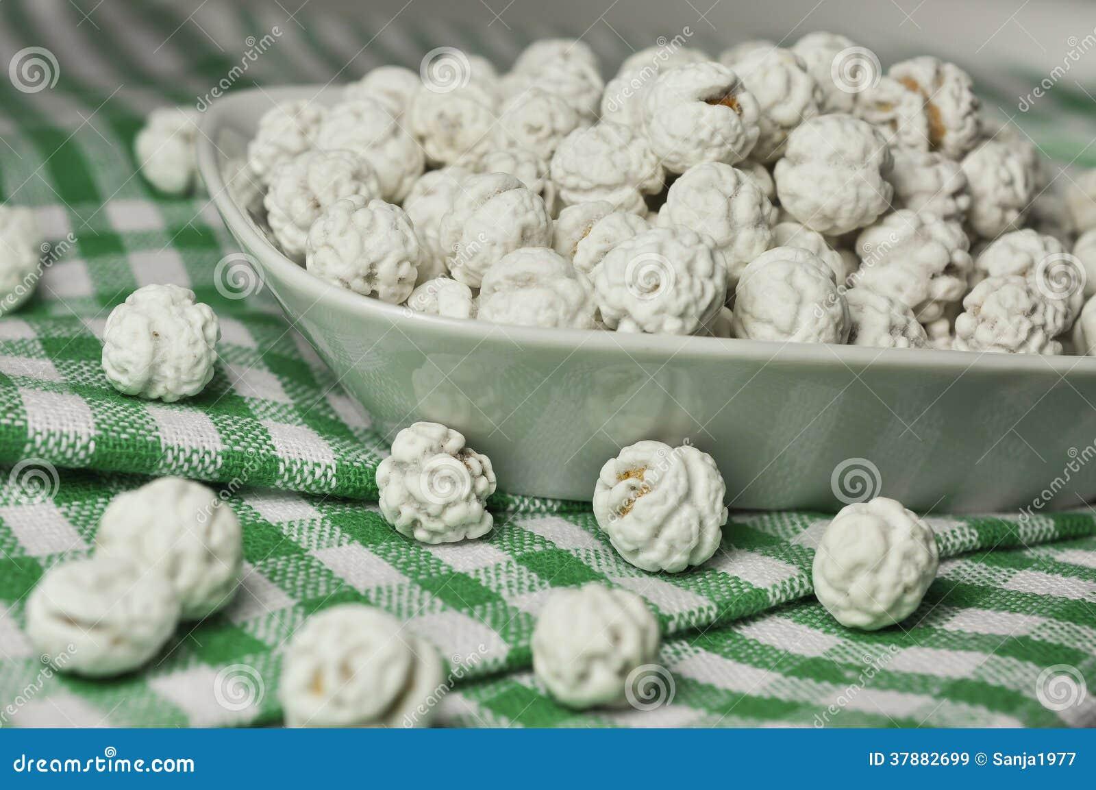 Met een suikerlaagje bedekte kekers