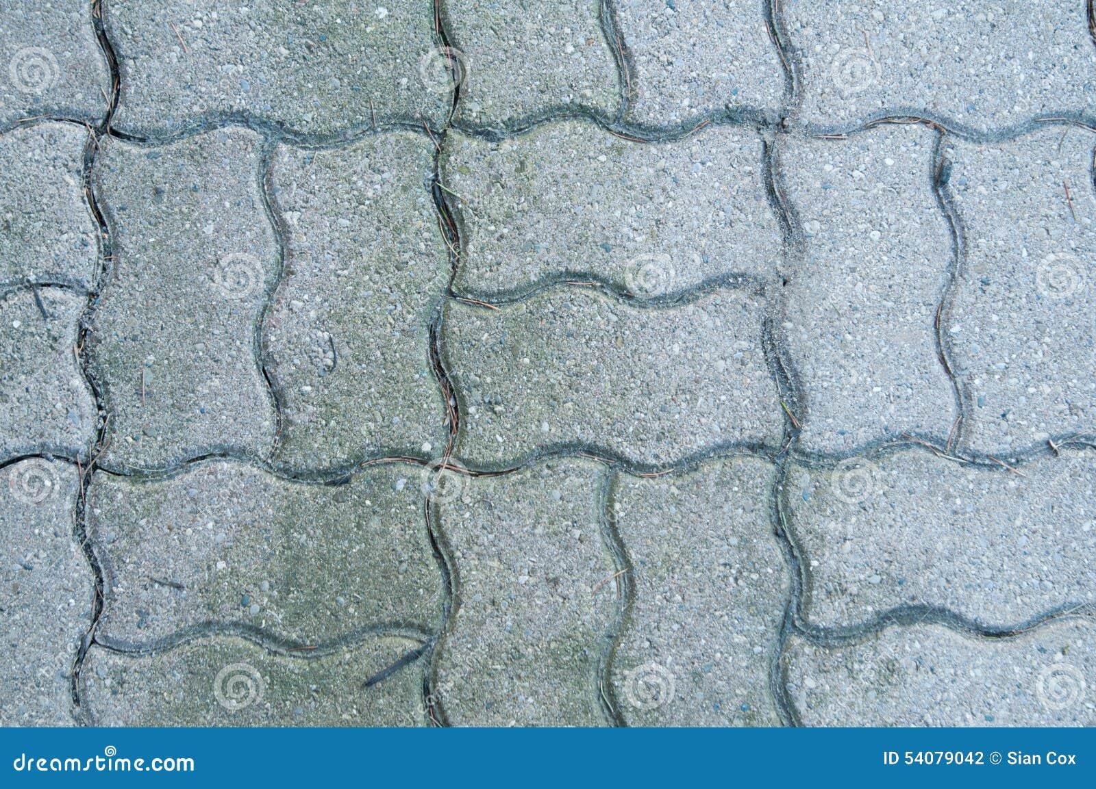 Met elkaar verbindende baksteen