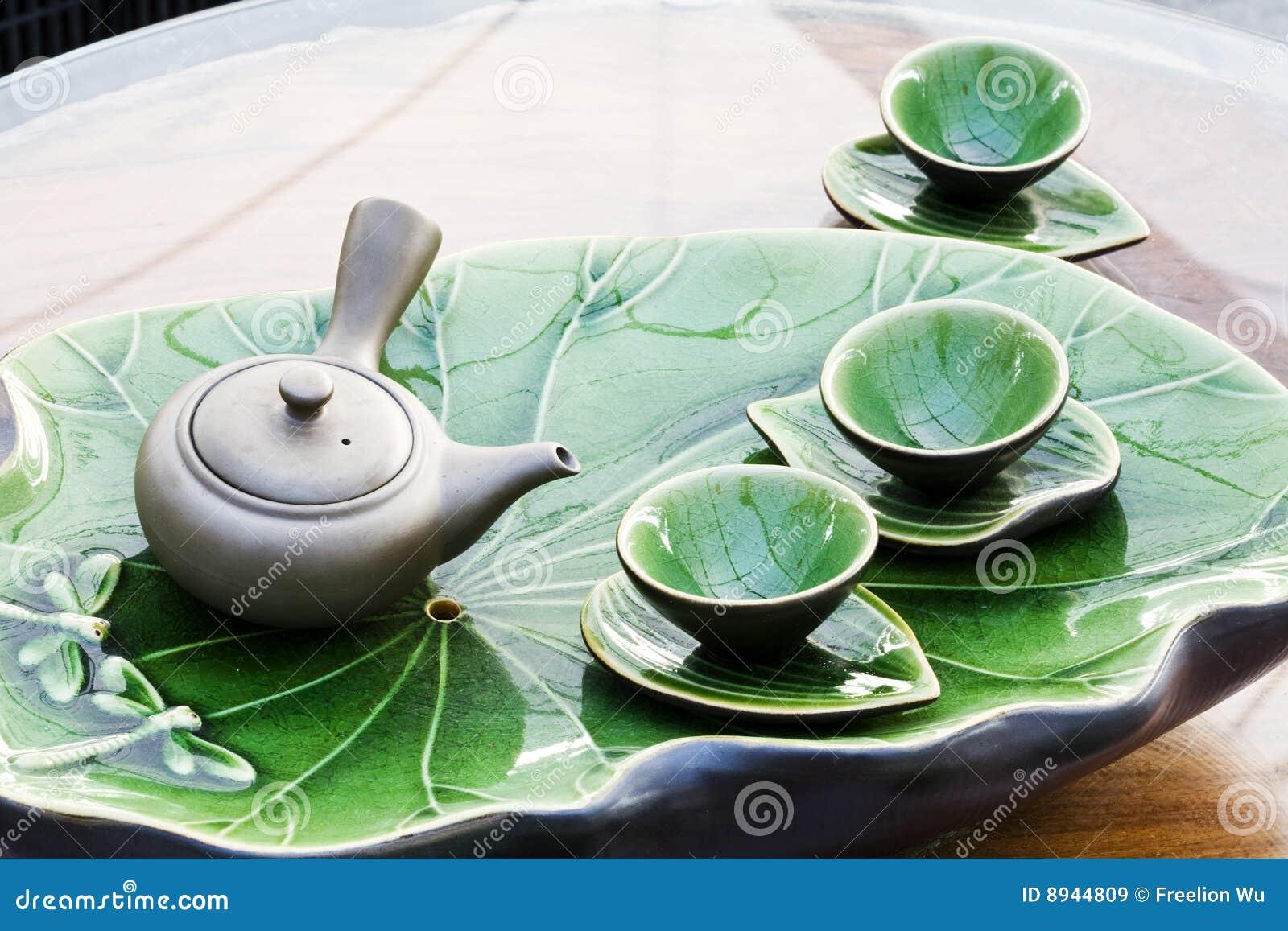 Met en forme de tasse le thé de bac
