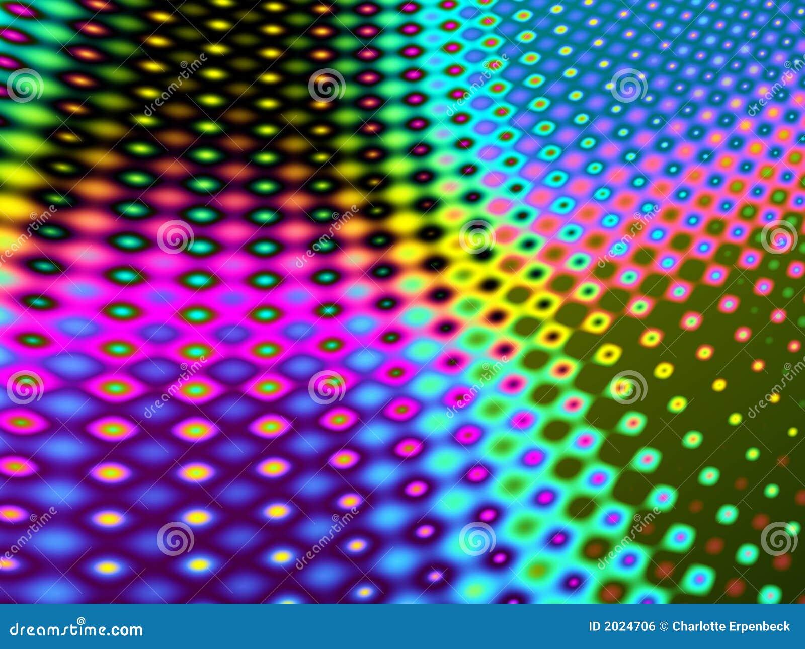 Metaal gekleurd patroon