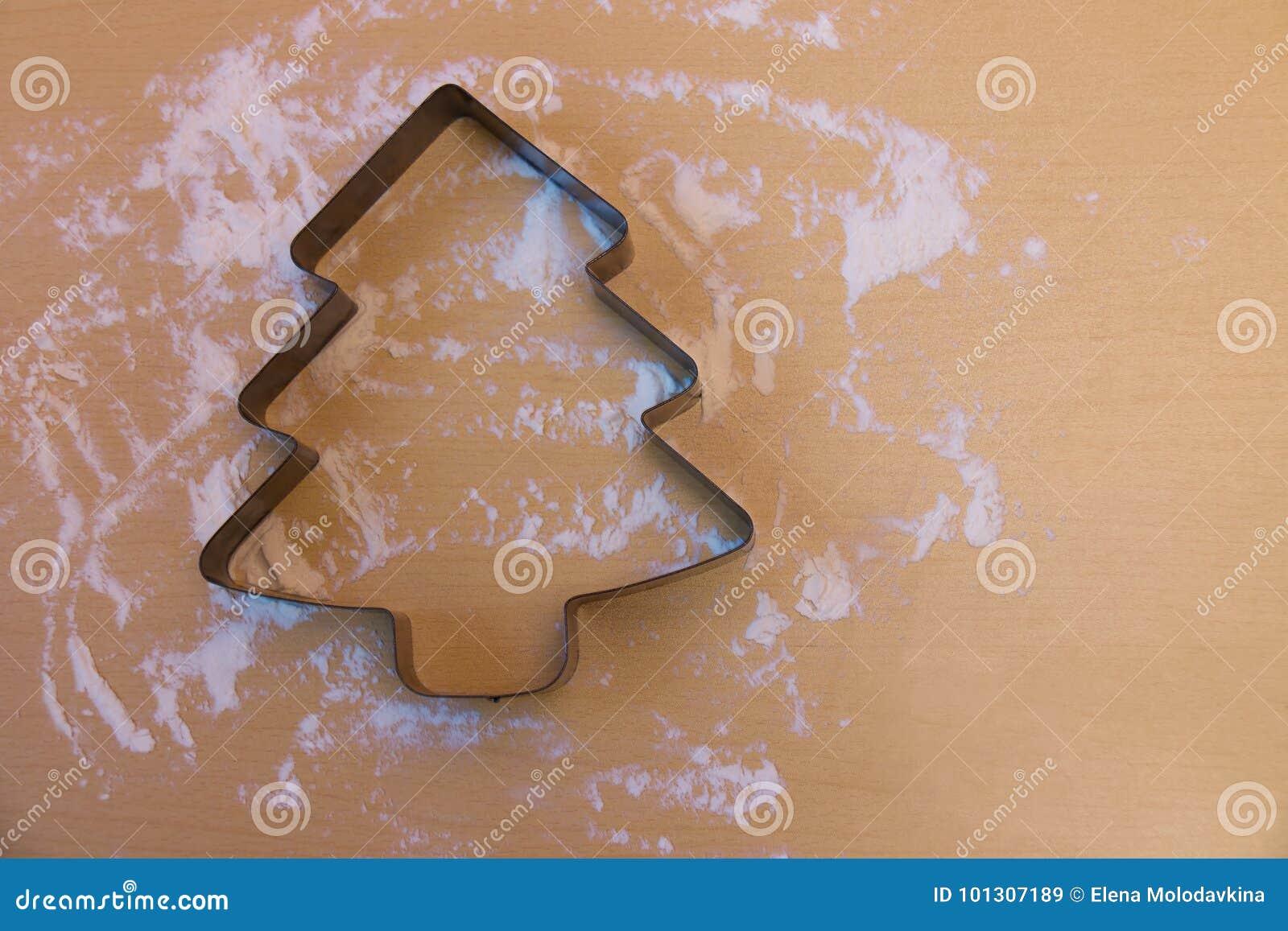 Формы елки для печенья — 3