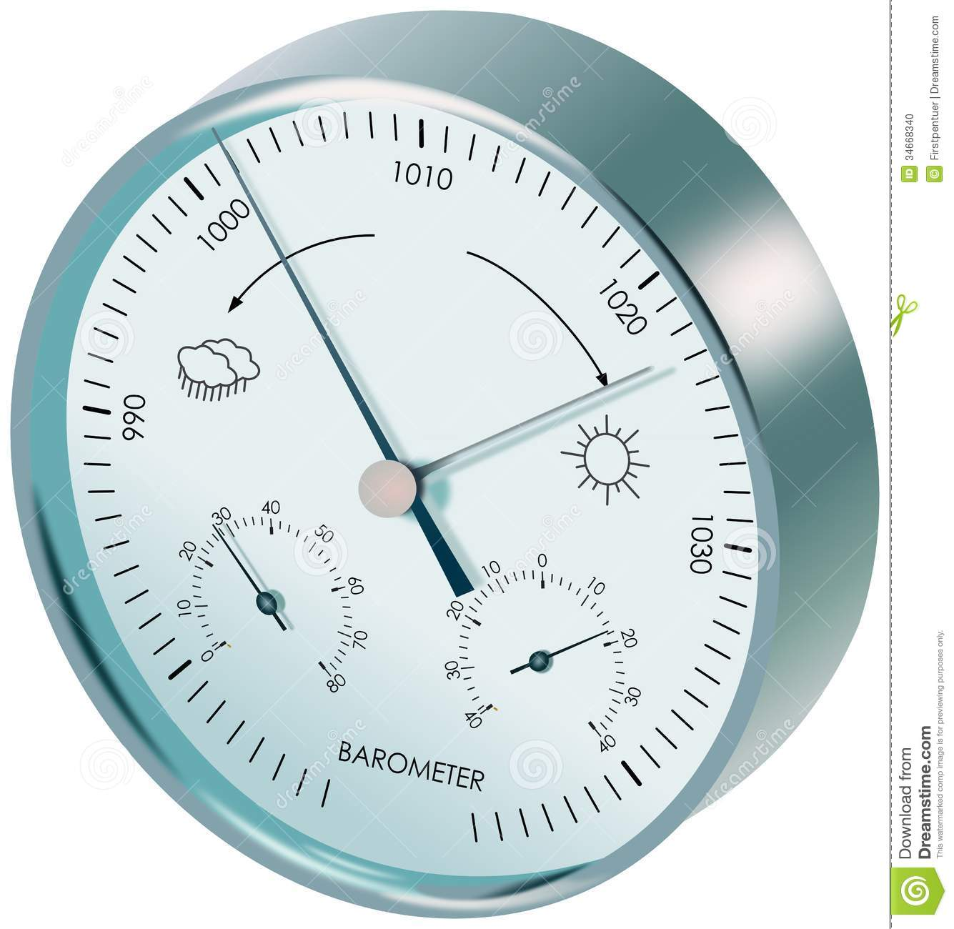 how to use a barometer to measure air pressure