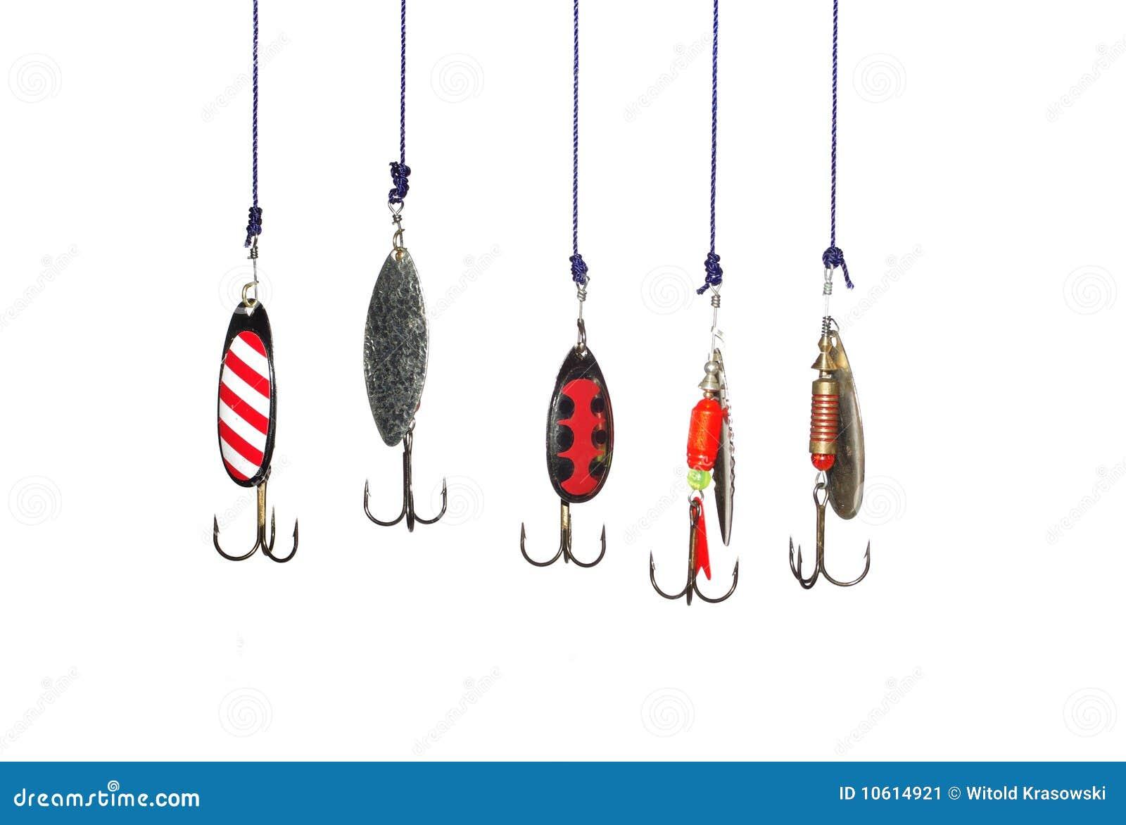 Metal angling baits