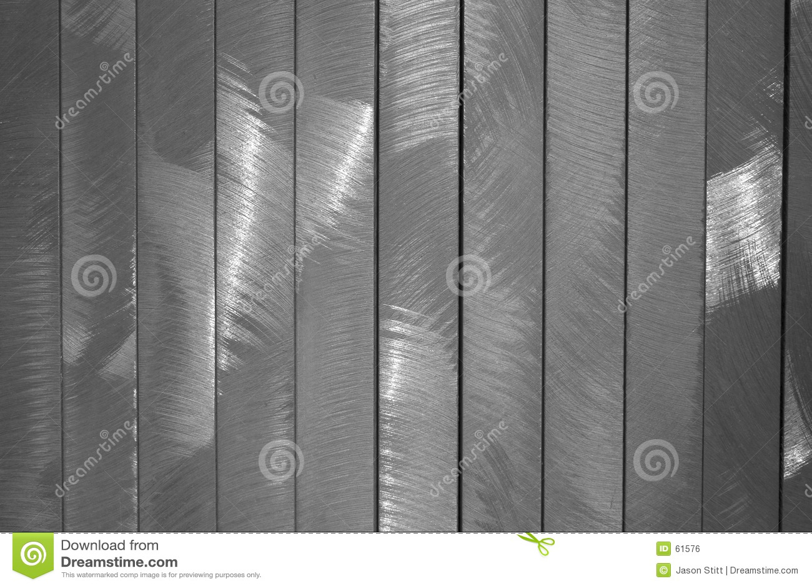 Metal aplicado con brocha