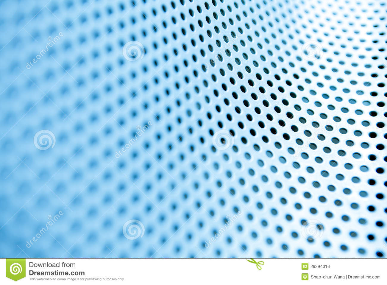 Metal Background With Circles Royalty Free Stock Image