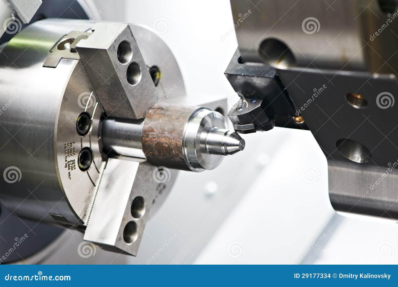 metal blank machining process stock photo image 29177334