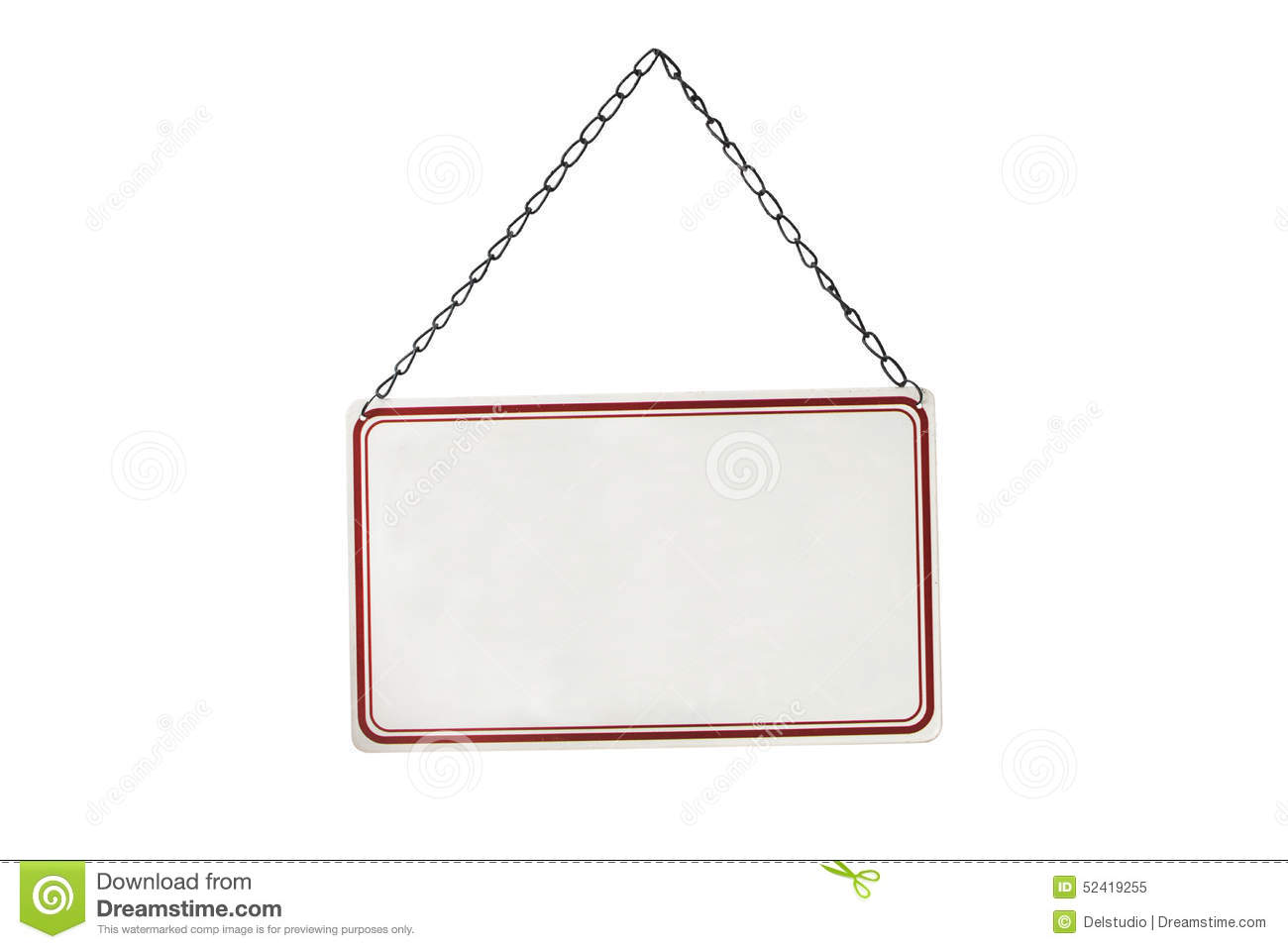 blank hanging sign - photo #15