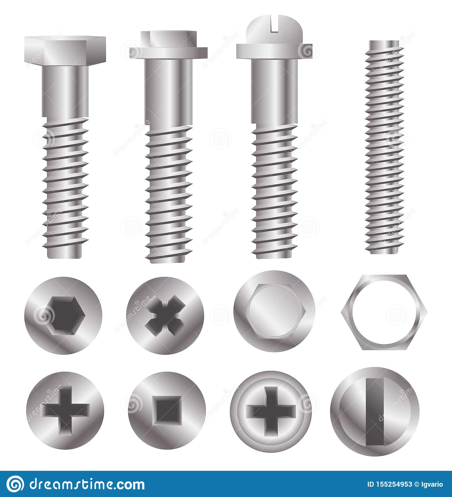 Bolt Heads Stock Illustrations 155 Bolt Heads Stock Illustrations Vectors Clipart Dreamstime