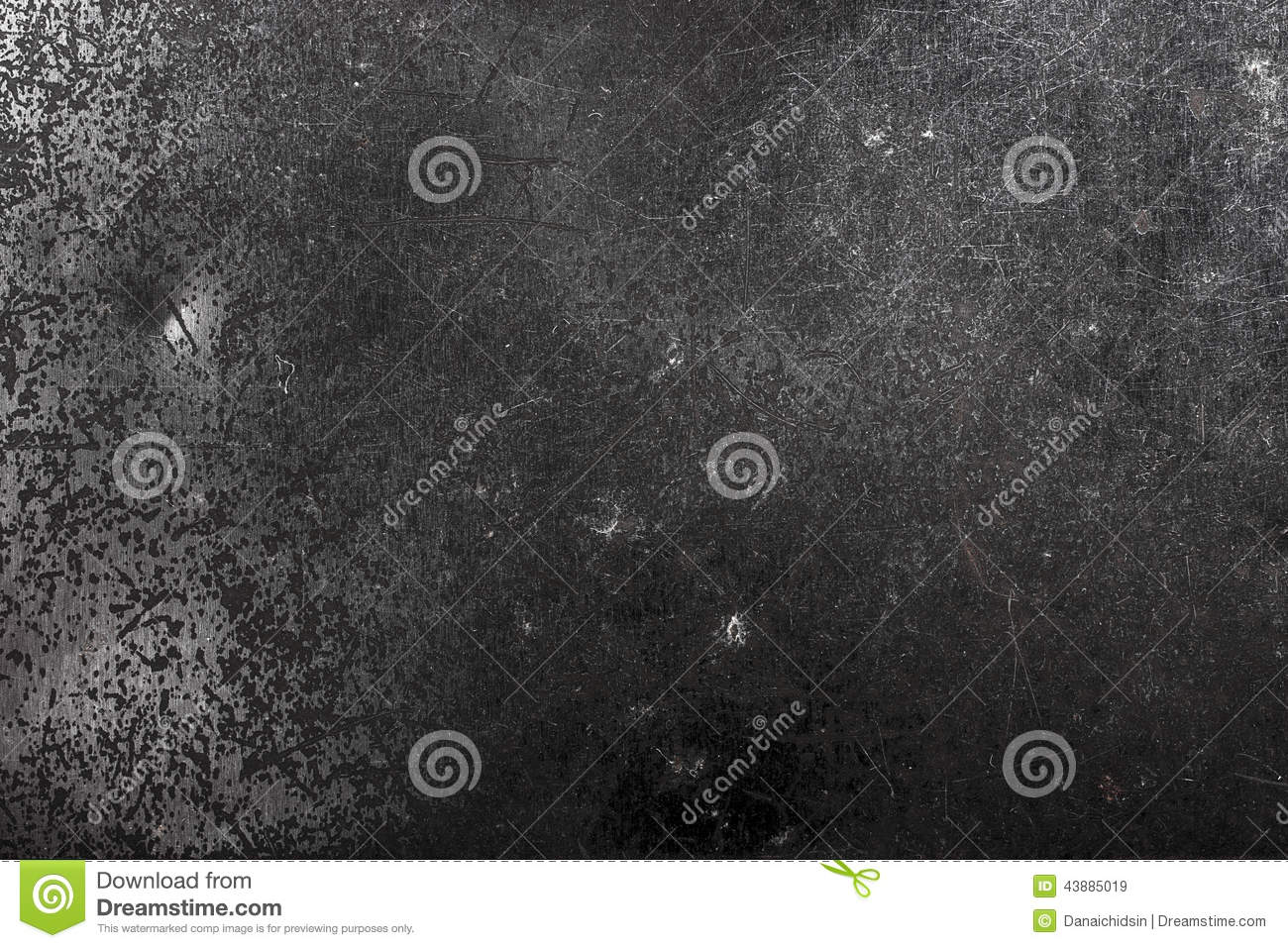 Metal Box With Detail And Texture Stock Photo - Image ...