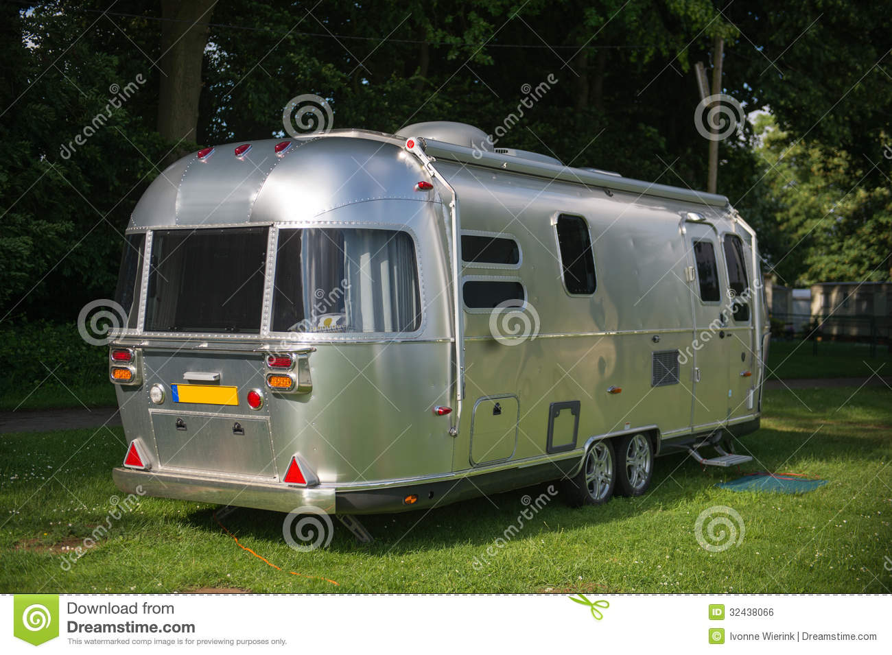 Metal Caravan Royalty Free Stock Image Image 32438066