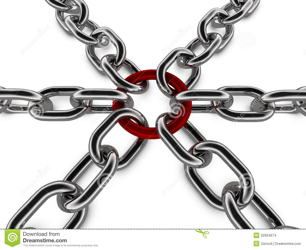 Metal chain concept graphic stock images image 32924674 for Concept metal