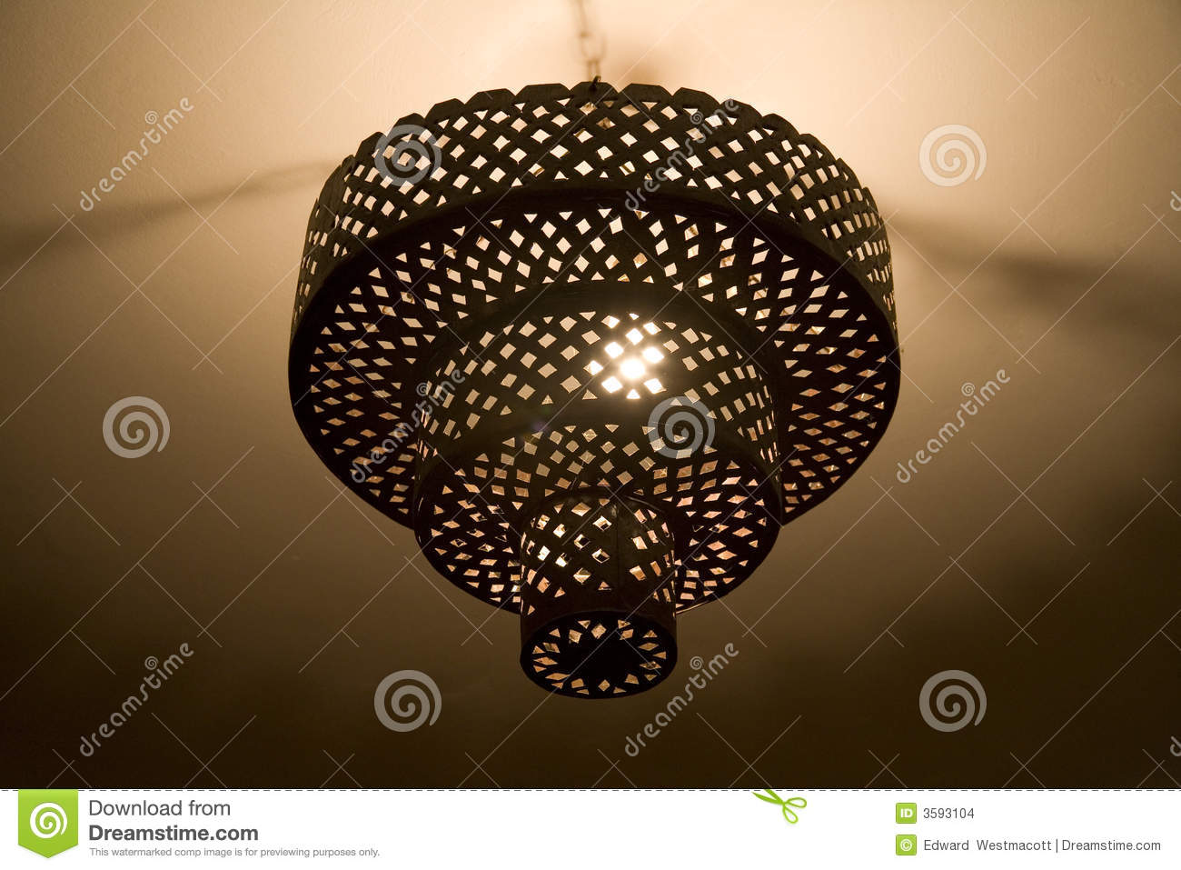 Metal chandelier stock photo image of light lamp chain 3593104 mozeypictures Gallery