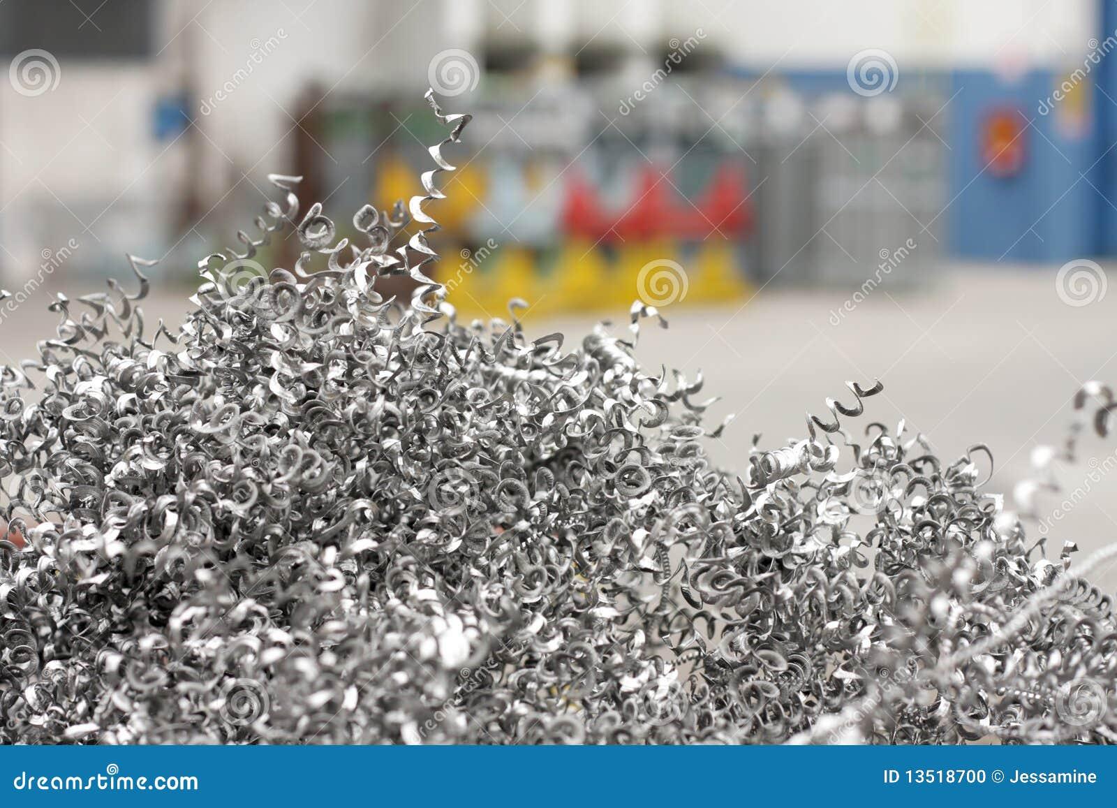 Metal Chips Stock Photo Image 13518700
