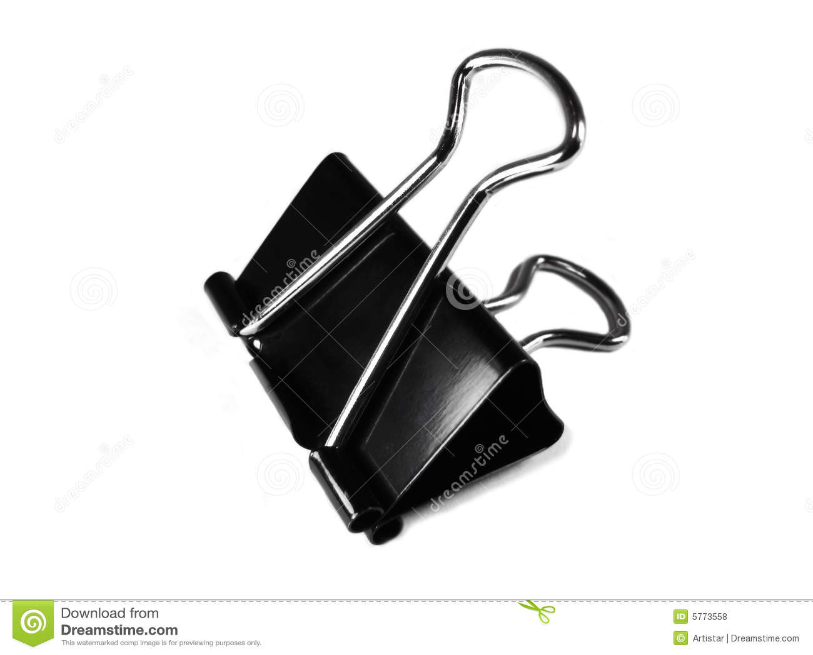 Metal Clip Royalty Free Stock Photos Image 5773558