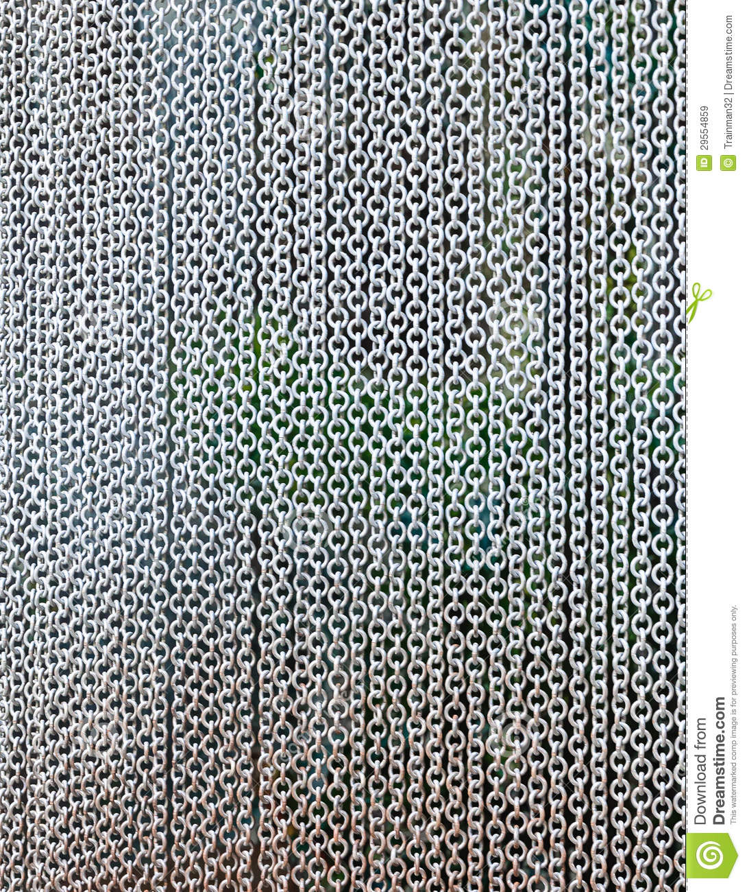 Metal Curtain Stock Image Image Of Object Gate Blind