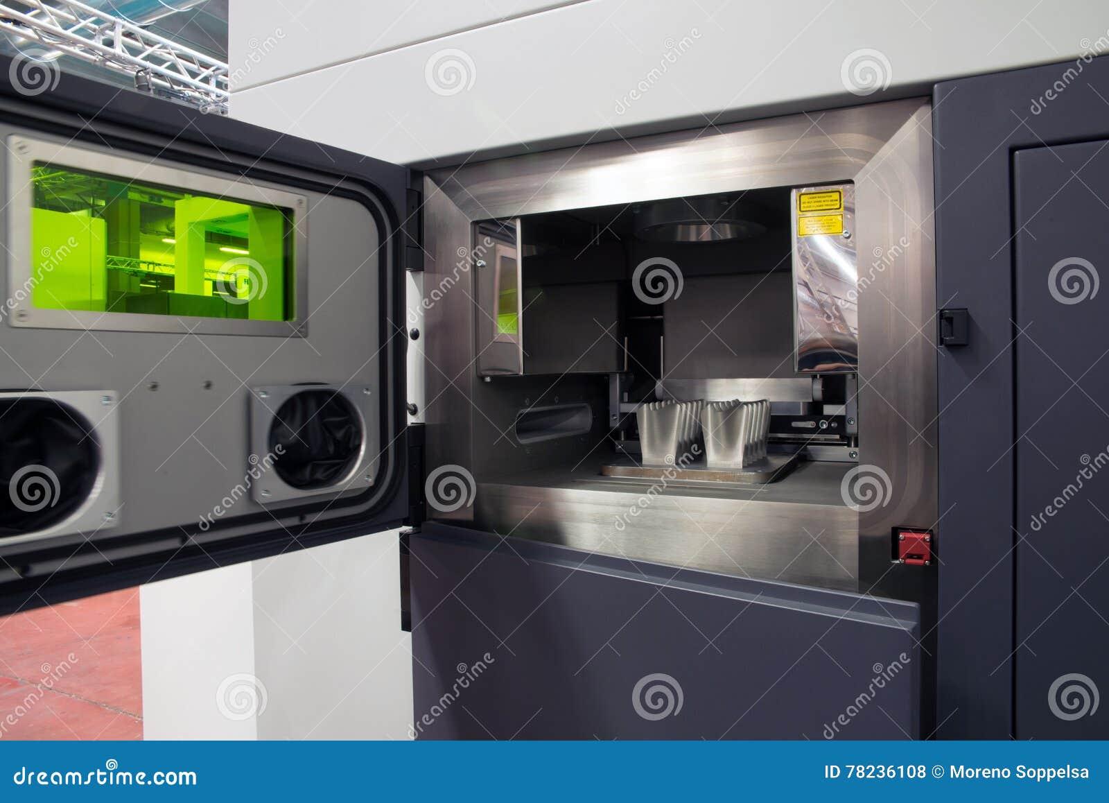 Metal 3D printers (DMLS)