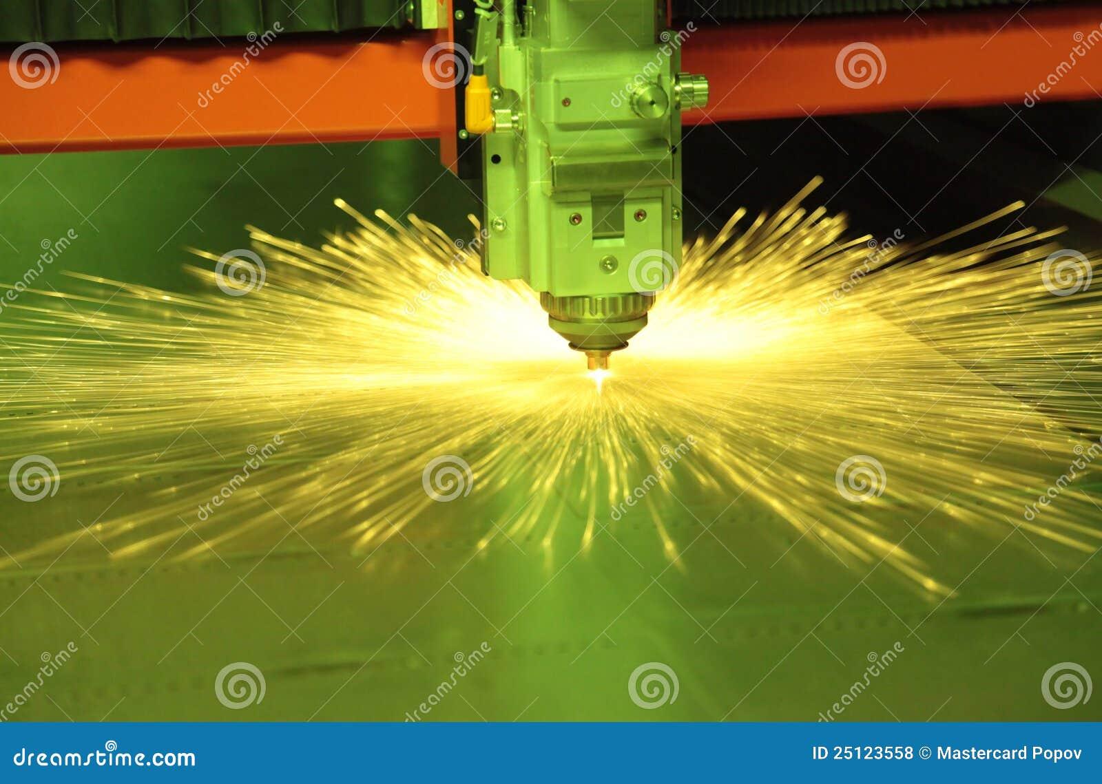 Metal del corte del laser