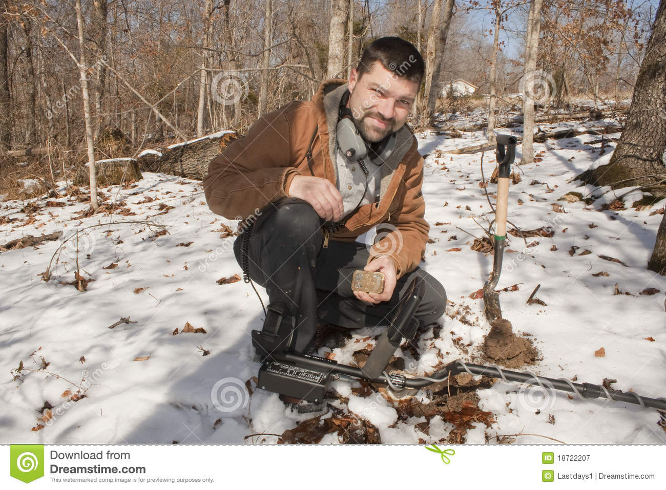 Jew Detector: Metal Detecting Royalty Free Stock Photography