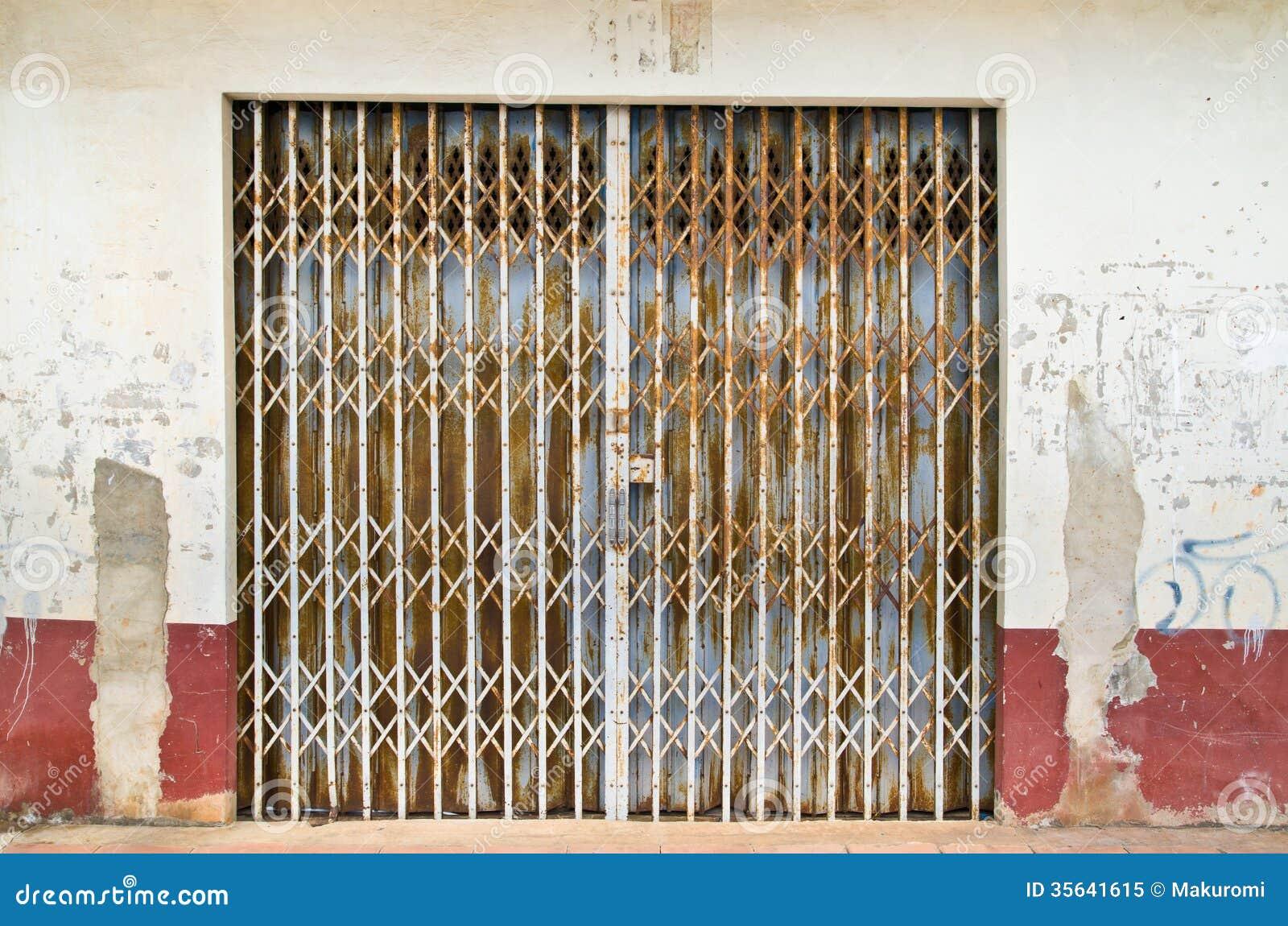 Metal Door Stock Image Image Of Antique History Feature