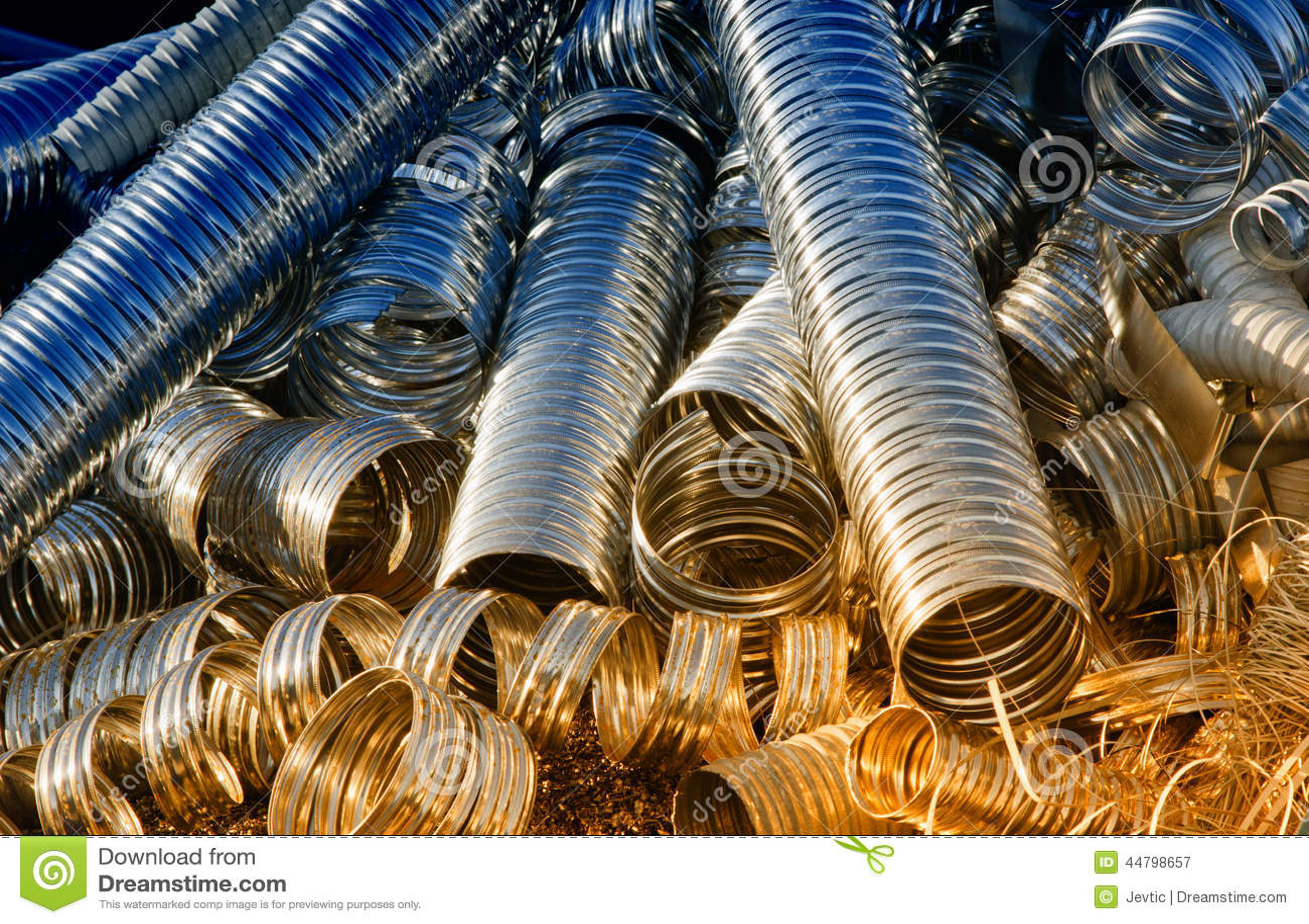 Metal drymby