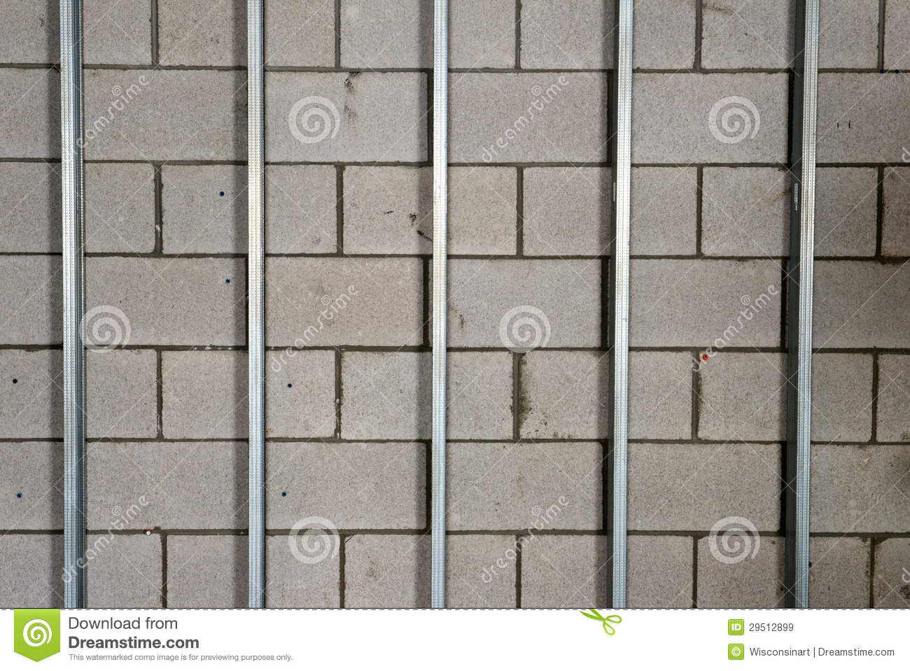 Metal Wall Studs metal wall studs royalty free stock images - image: 2442339